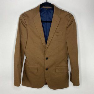 NWT J. Crew Ludlow Brown cotton Blazer sports coat